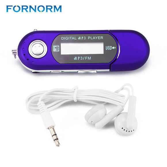 Mini Portable USB MP3 Player Music Media Player with LCD Screen 32GB - Empire Accessories Inc