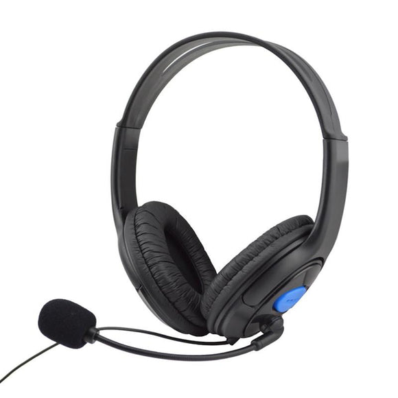 Wired Gaming Headset Headphones With Microphone For Sony PS4 Play - Empire Accessories Inc