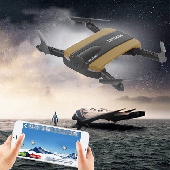 HD Camera WIFI FPV RC Quadcopter Selfie Foldable Drone - Empire Accessories Inc