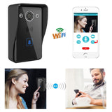 720P HD Wireless Wifi Remote Doorbell Intercom System Night Vision - Empire Accessories Inc