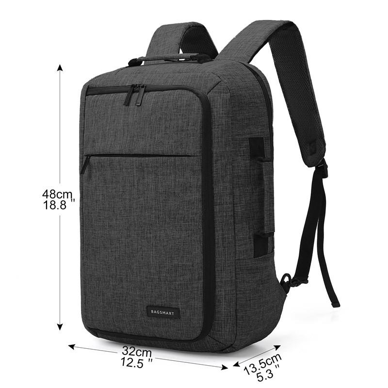 15.6 Laptop Backpack Convertible 2-in-1 - Empire Accessories Inc 89ab3f2018c6a
