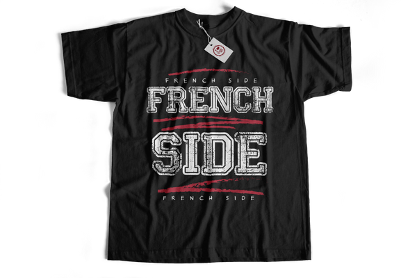 french side female V Neck