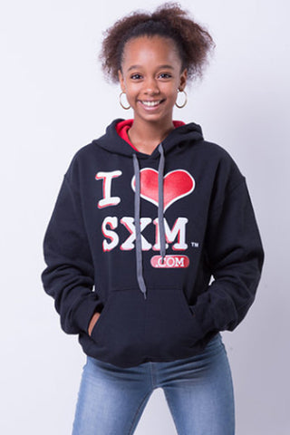 I Love SXM Hoodies