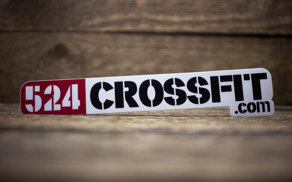 524 CrossFit Matte Stickers