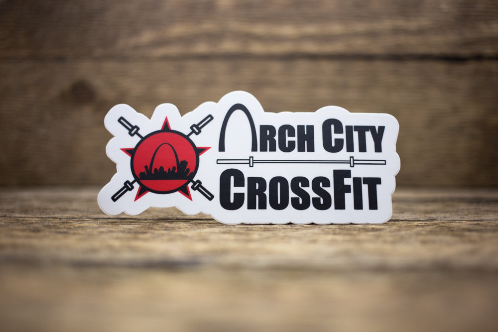 Arch City CrossFit Matte Stickers