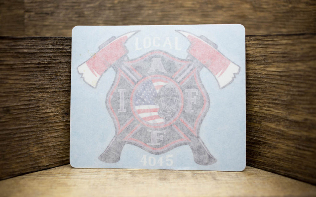 Local IAFF Union 4045 Decals