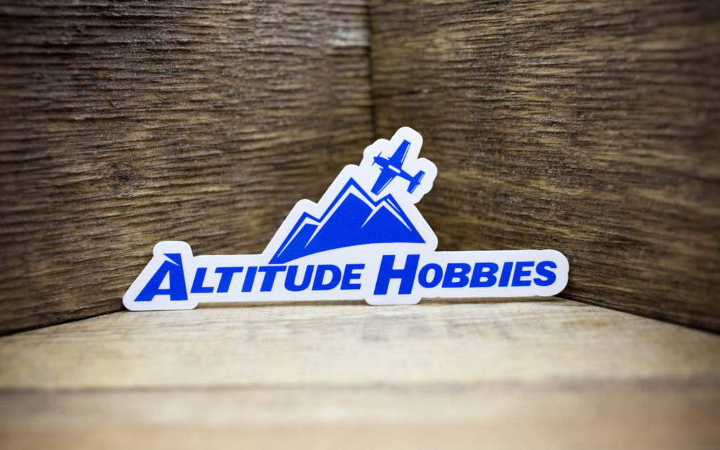 Altitude Hobbies Glossy Stickers