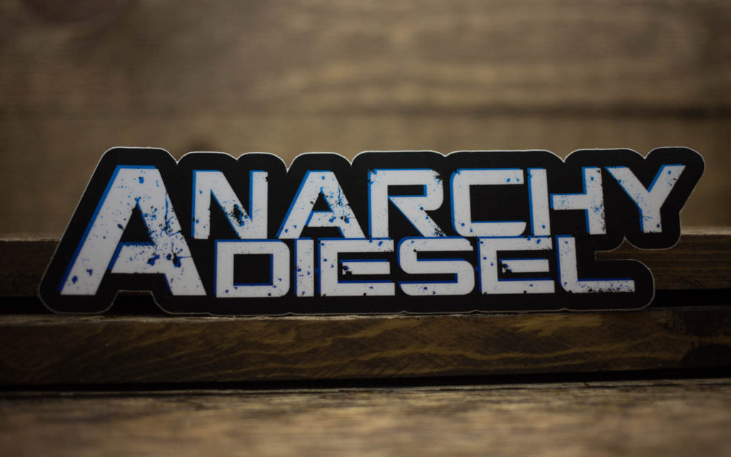 Anarchy Diesel Matte Stickers