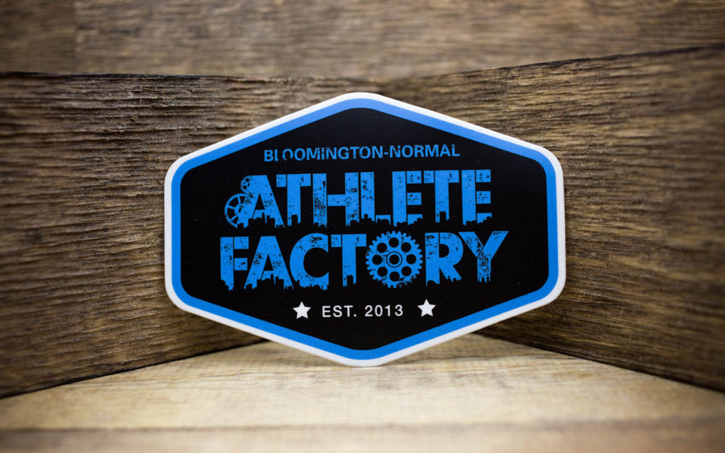 Athletic Factory Matte Stickers
