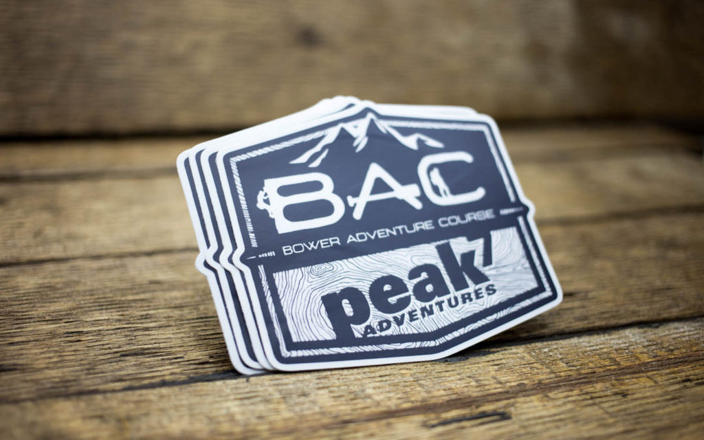 BAC Peak 7 Adventures Stickers