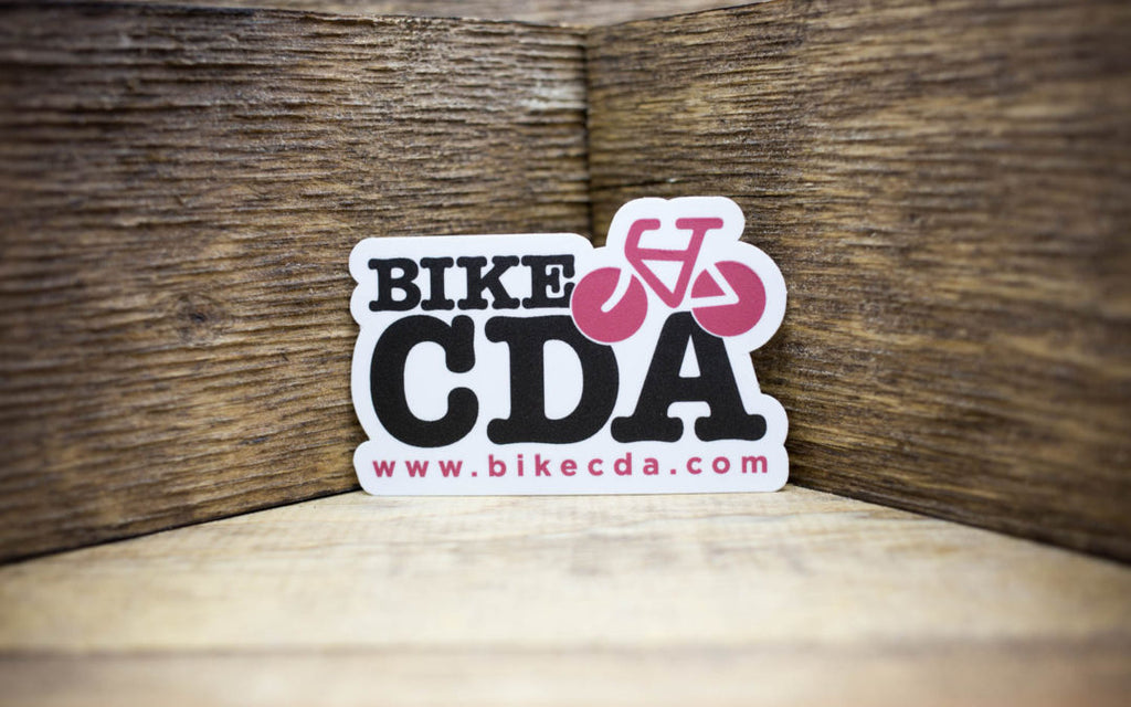 Bike CDA Matte Sticker