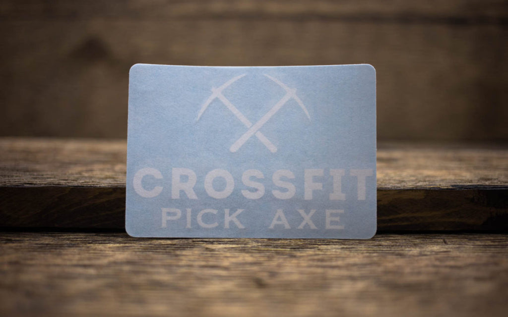 CrossFit Pick Axe Decals