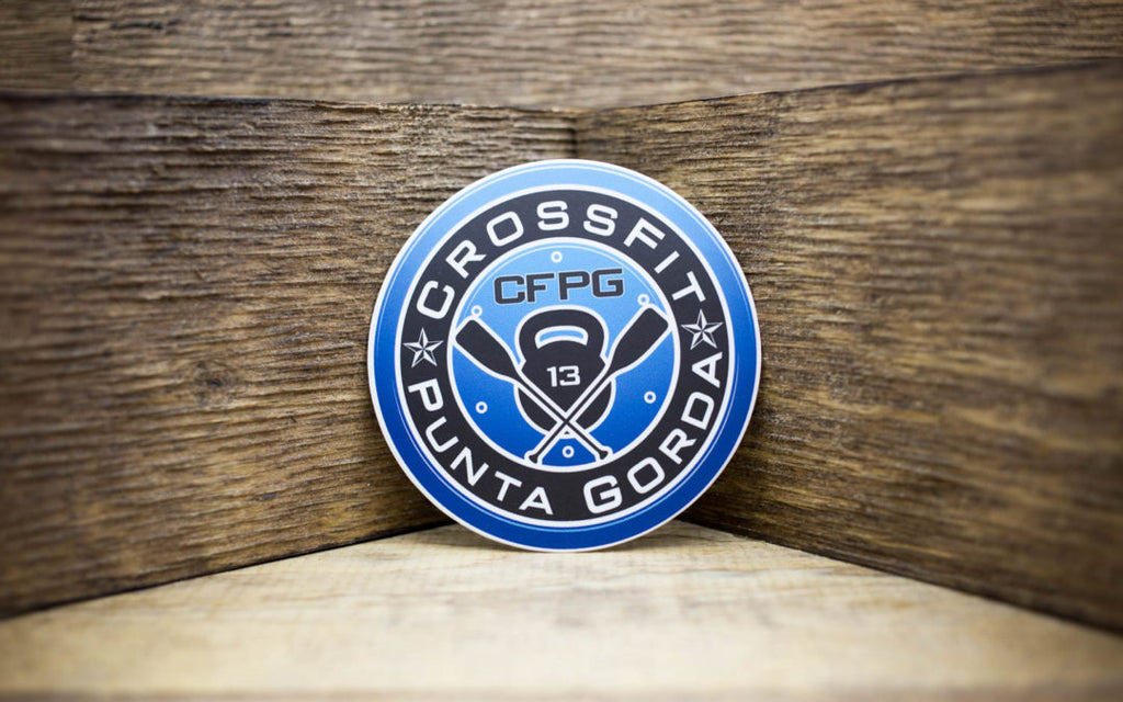 CrossFit Punta Gorda Matte Stickers