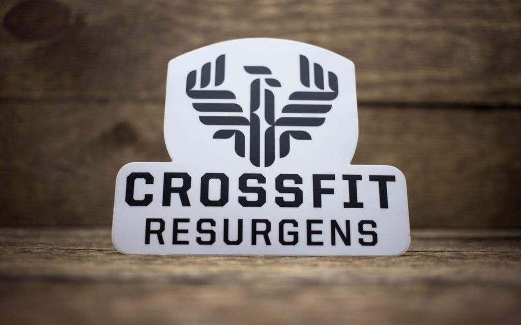 CrossFit Resurgens Matte Stickers