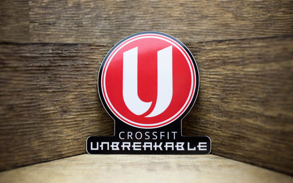 CrossFit Unbreakable Glossy Stickers