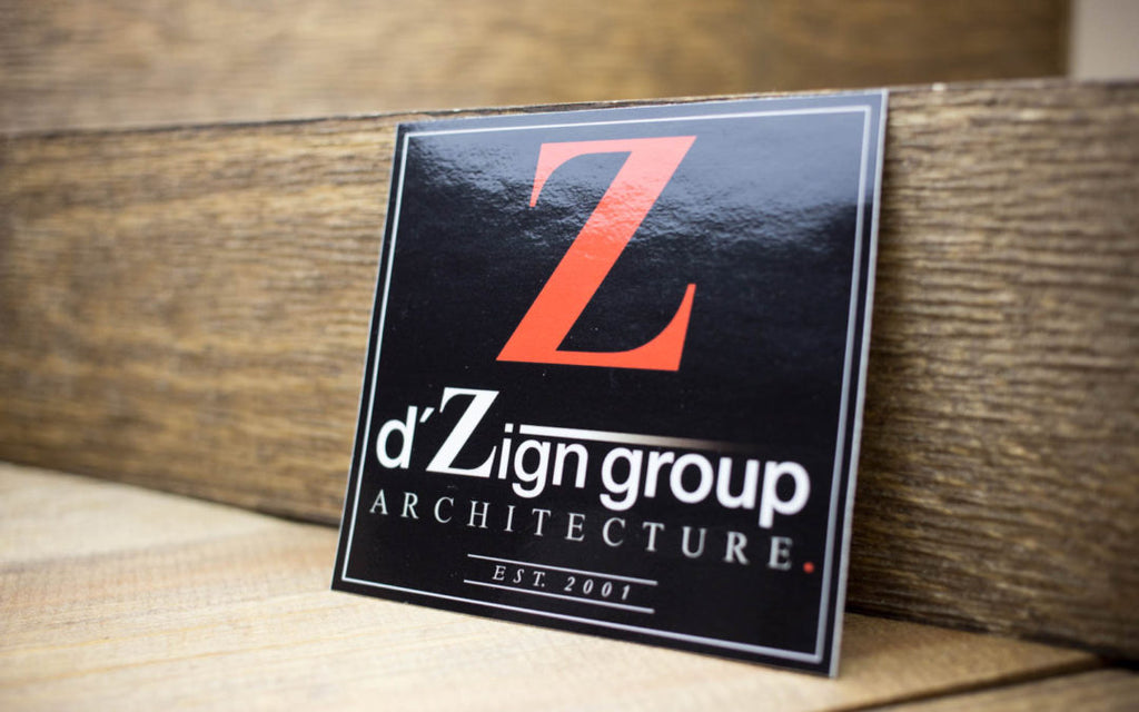 d'Zign group Architecture Glossy Stickers