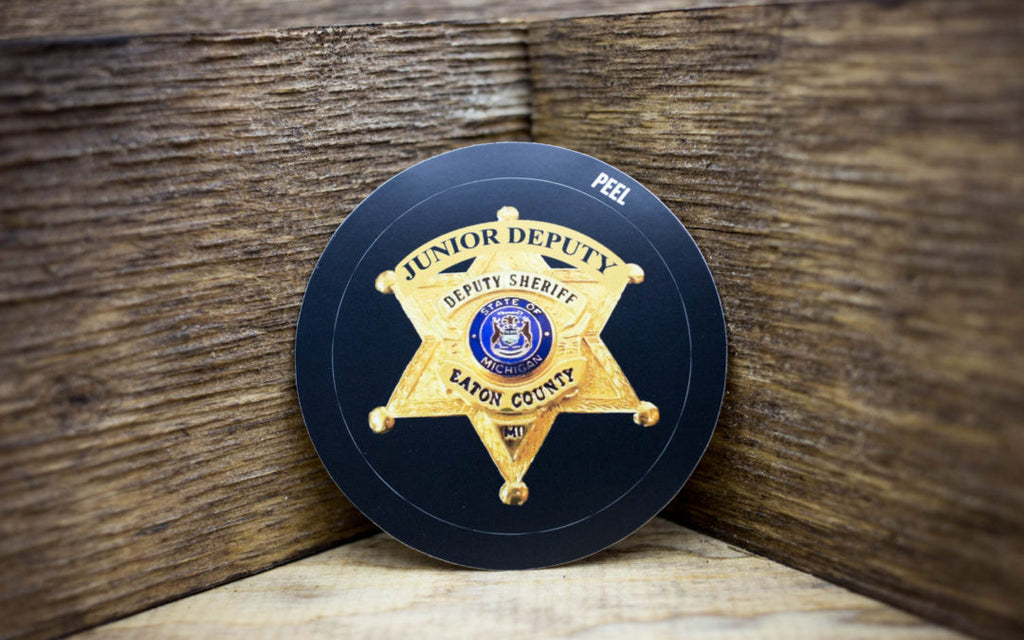 Eaton County Sheriff Jr Deputy Stickers