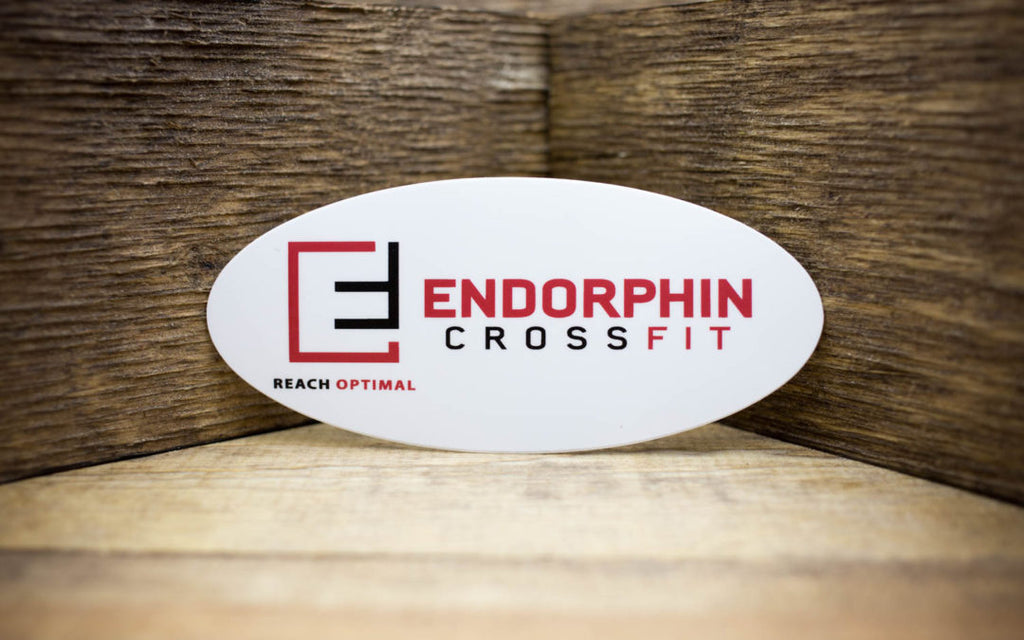 Endorphin CrossFit Matte Stickers