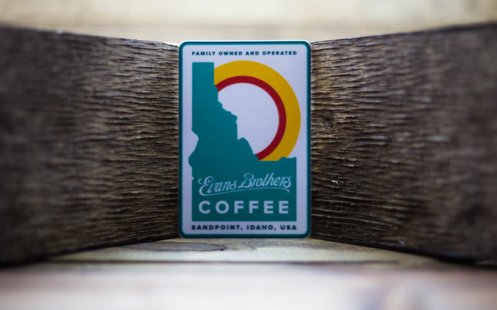 Evans Brothers Coffee Sticker
