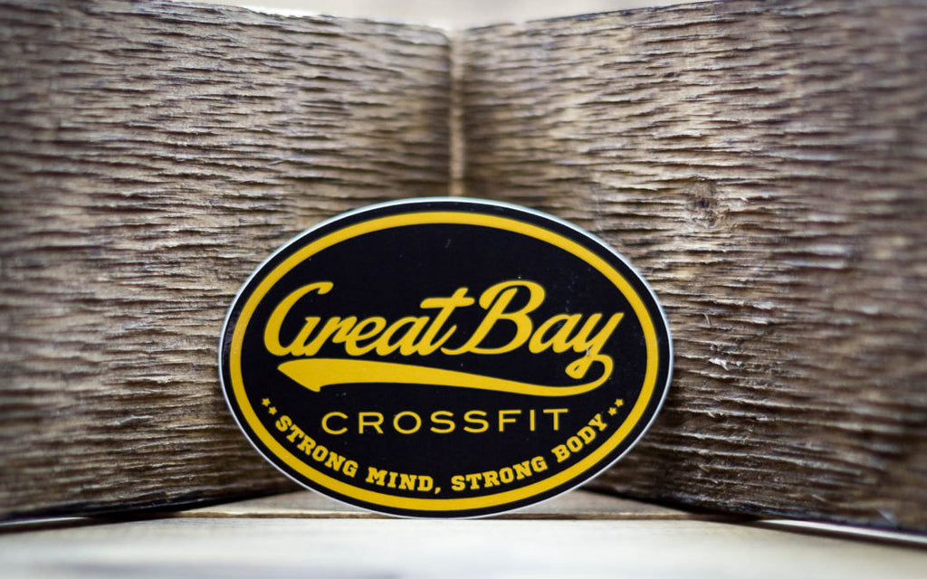 Great Bay CrossFit Stickers