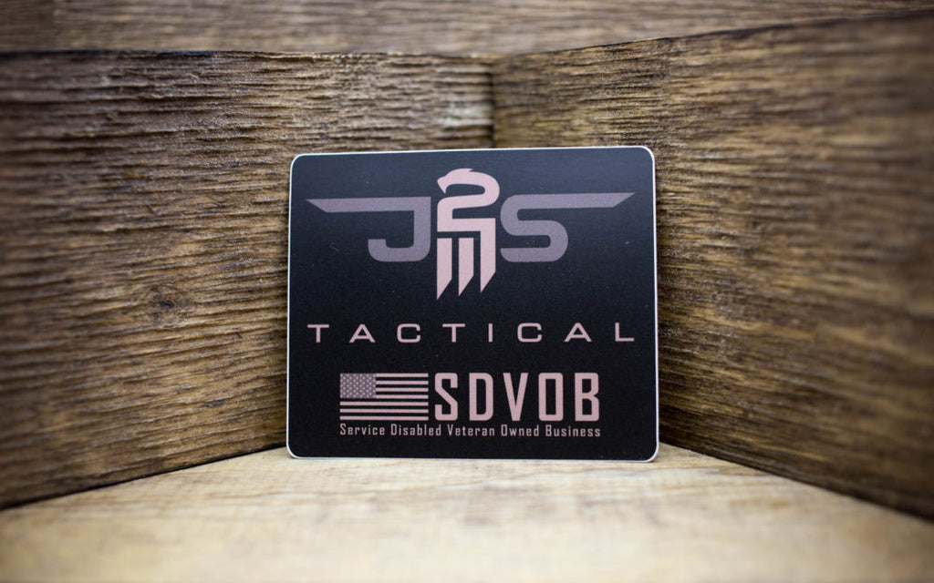 J2S Tactical Matte Stickers