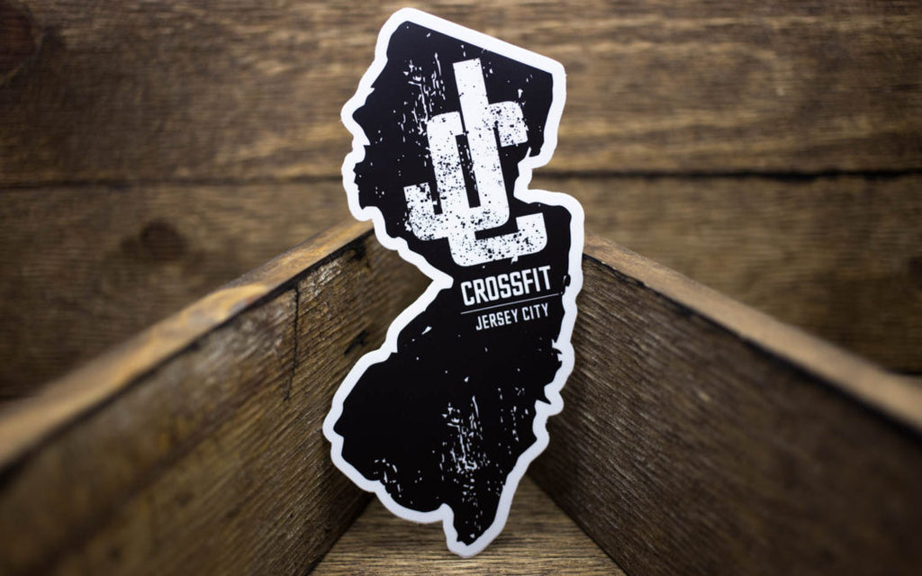 CrossFit Jersey City Matte Stickers