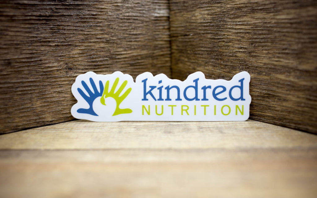 Kindred Nutrition Matte Stickers