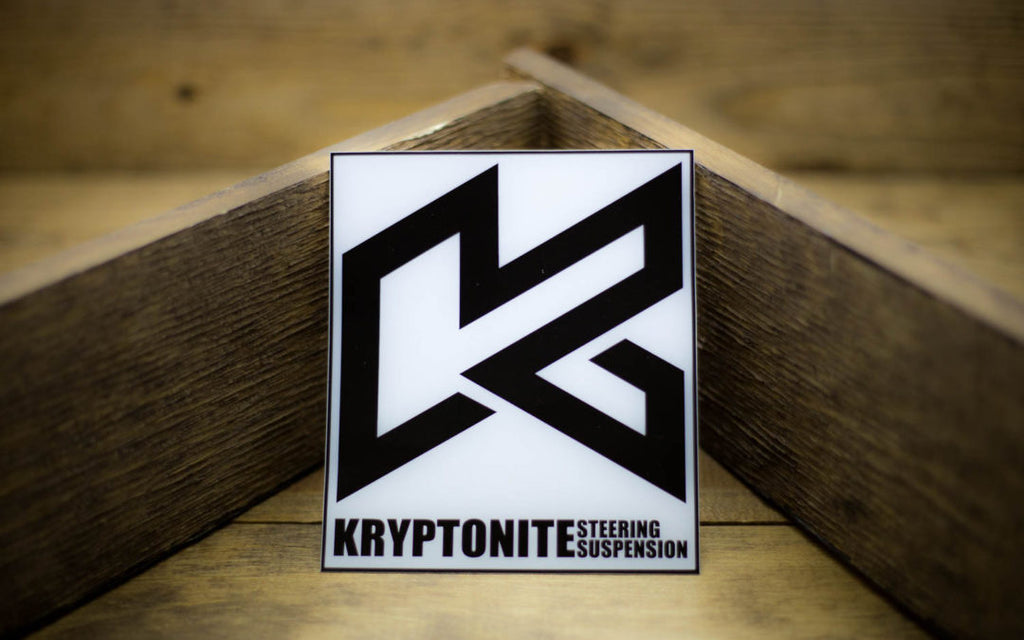 Kryptonite Steering Suspension Stickers