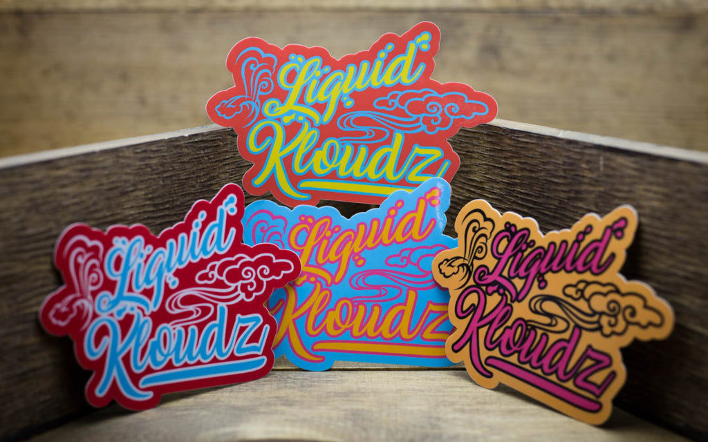 Liquid Kloudz Stickers