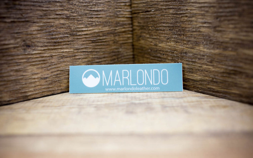 Marlondo Leather Company Matte Stickers