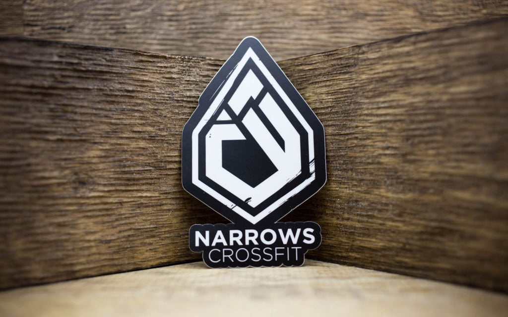 Narrows CrossFit Matte Stickers