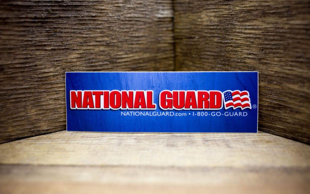 National Guard Matte Stickers