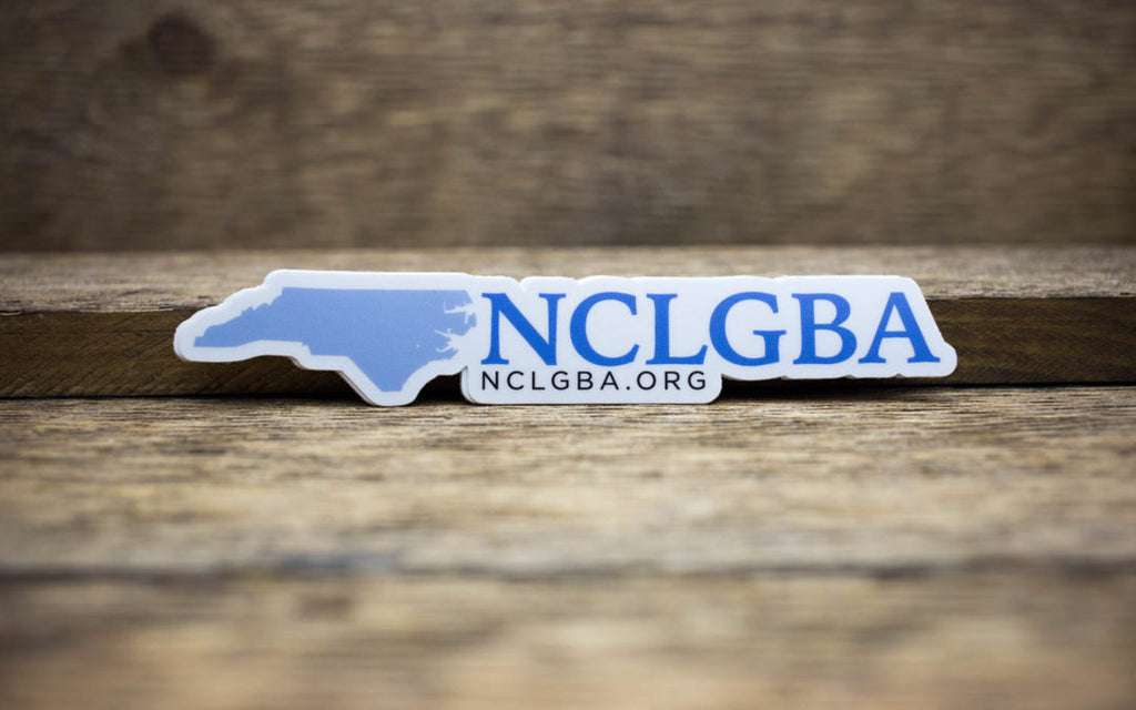 NCLGBA Matte Stickers