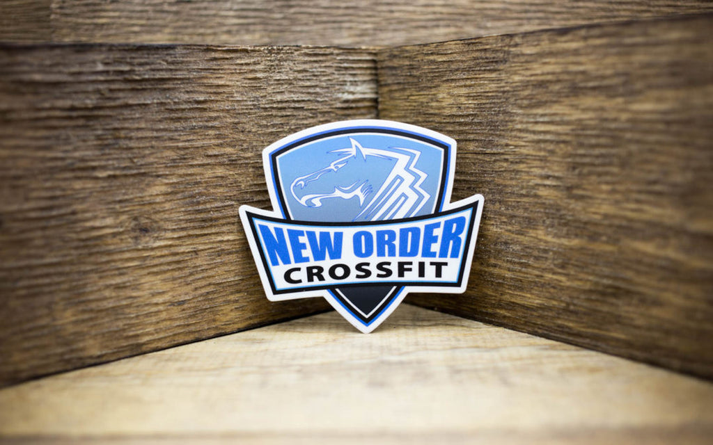 New Order CrossFit Stickers