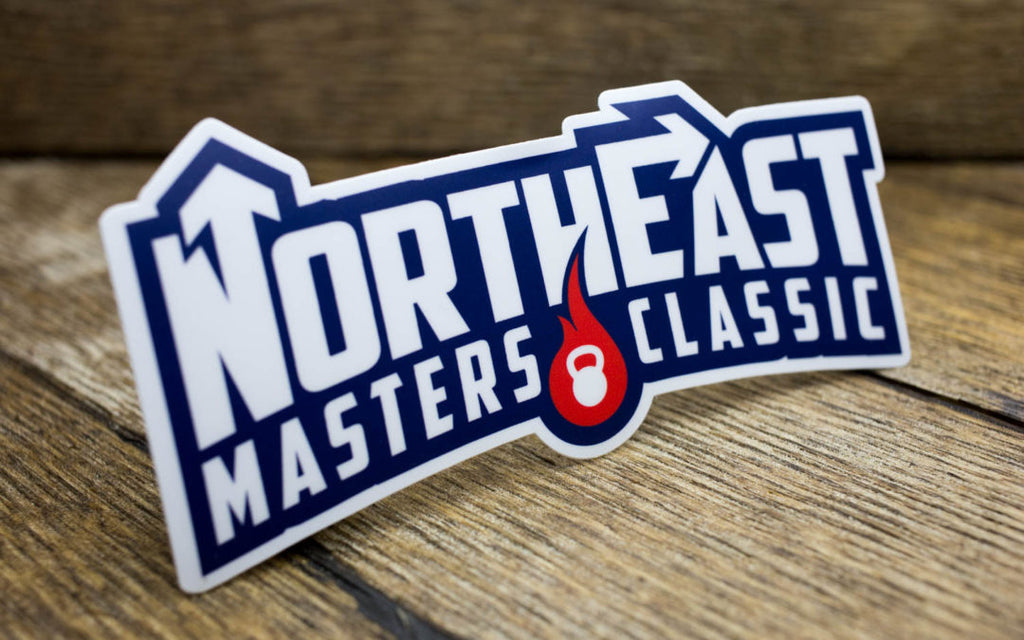 NorthEast Masters Classic Matte Stickers