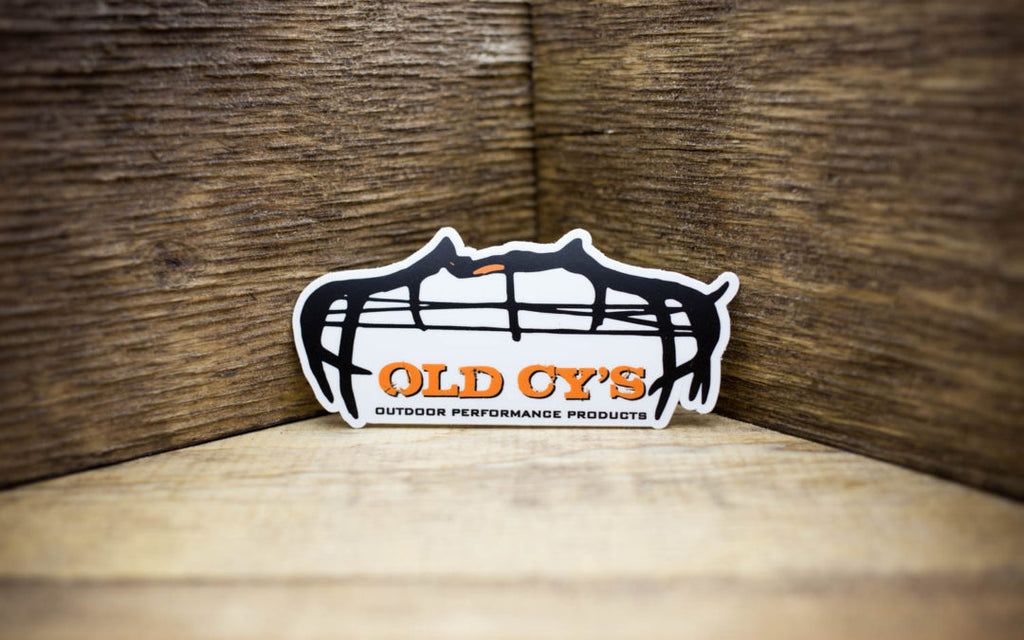 Old Cy's Matte Stickers