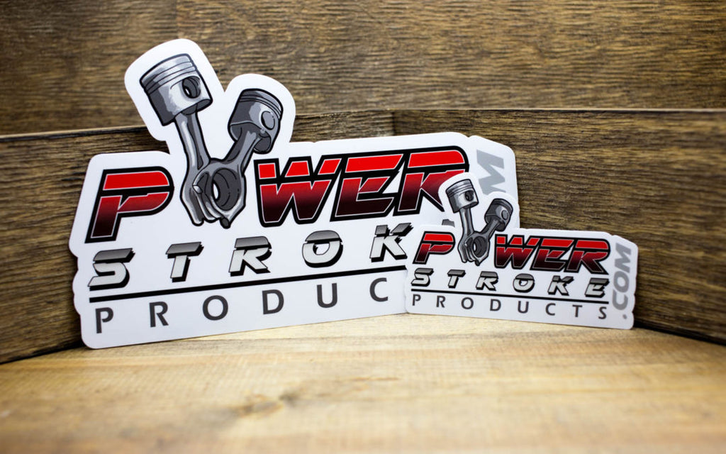 Power Stroke Products Stickers