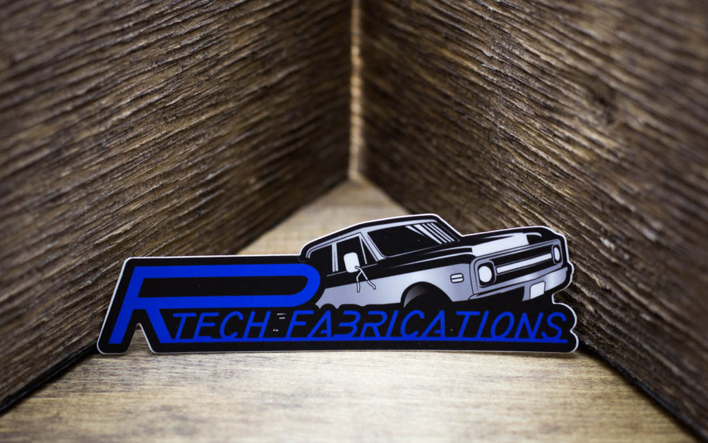 Rtech Fabrications Stickers