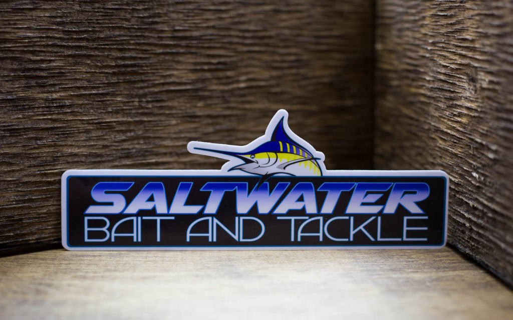 Saltwater Bait and Tackle Stickers