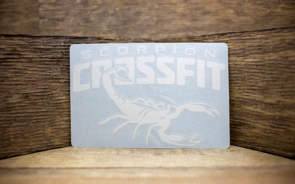 Scorpion CrossFit Vinyl Decals