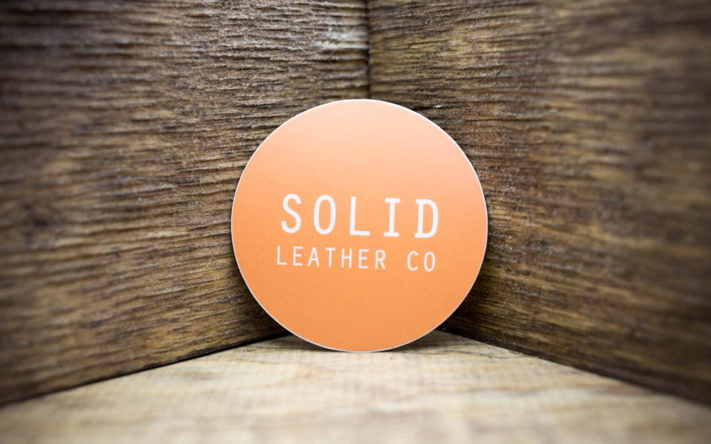 Solid Leather Co Matte Stickers