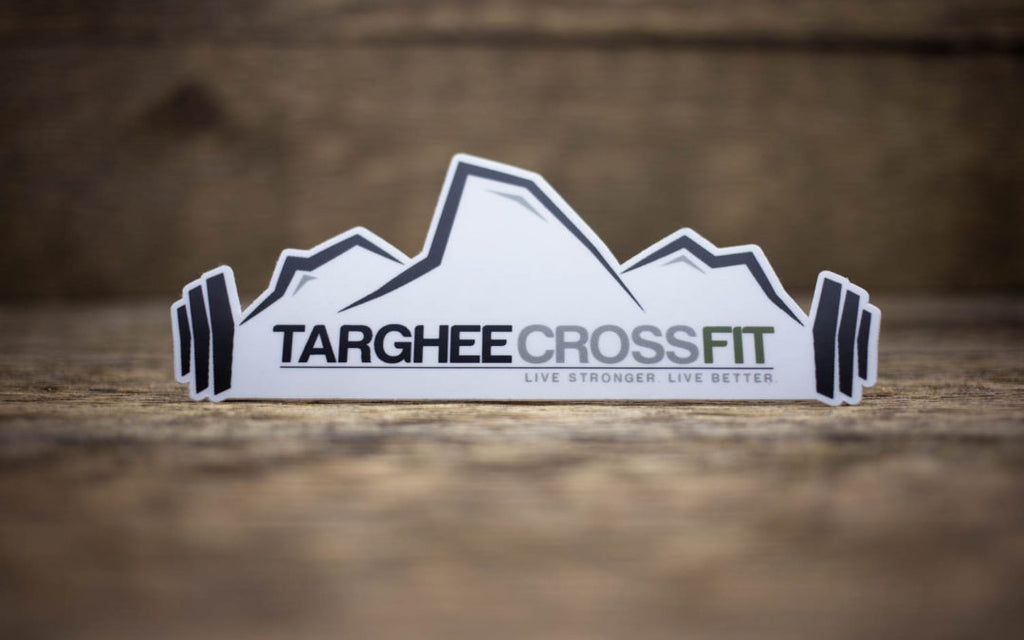 Targhee CrossFit Matte Sticker