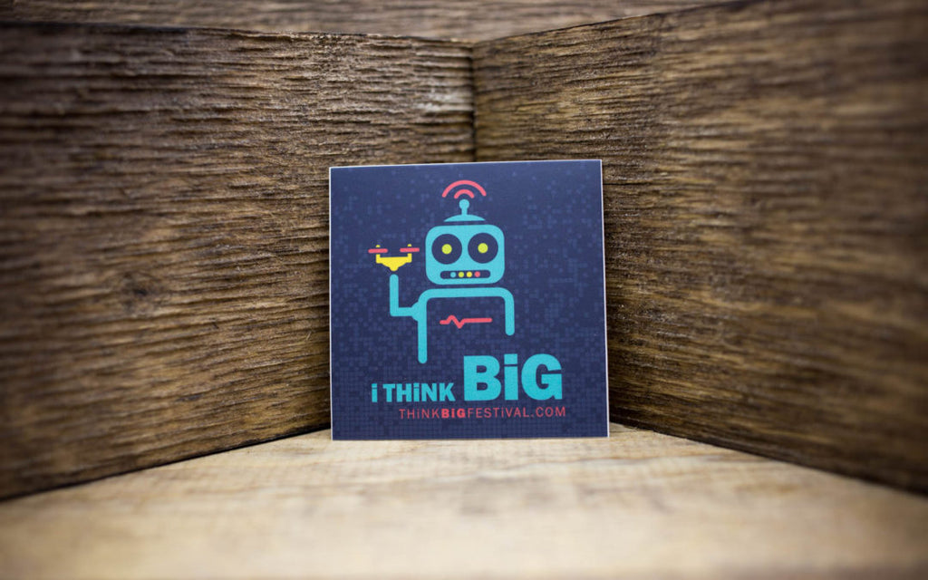 Think Big Festival Matte Stickers