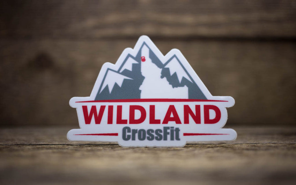 Wildland CrossFit Matte Stickers
