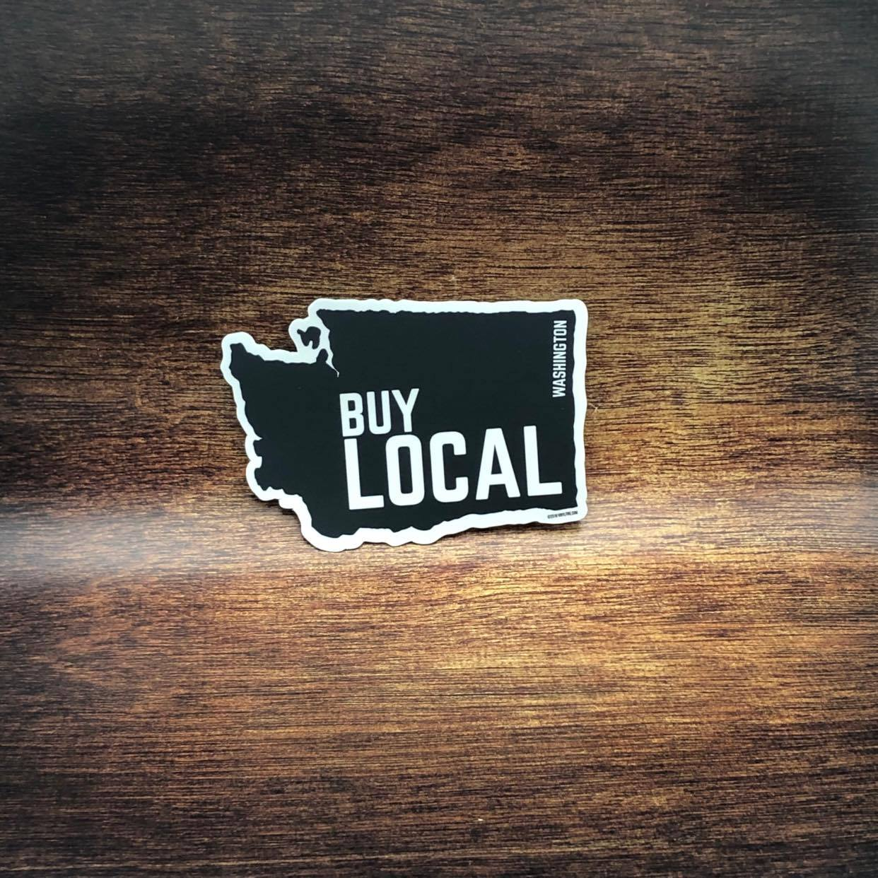 Buy Local Washington Sticker