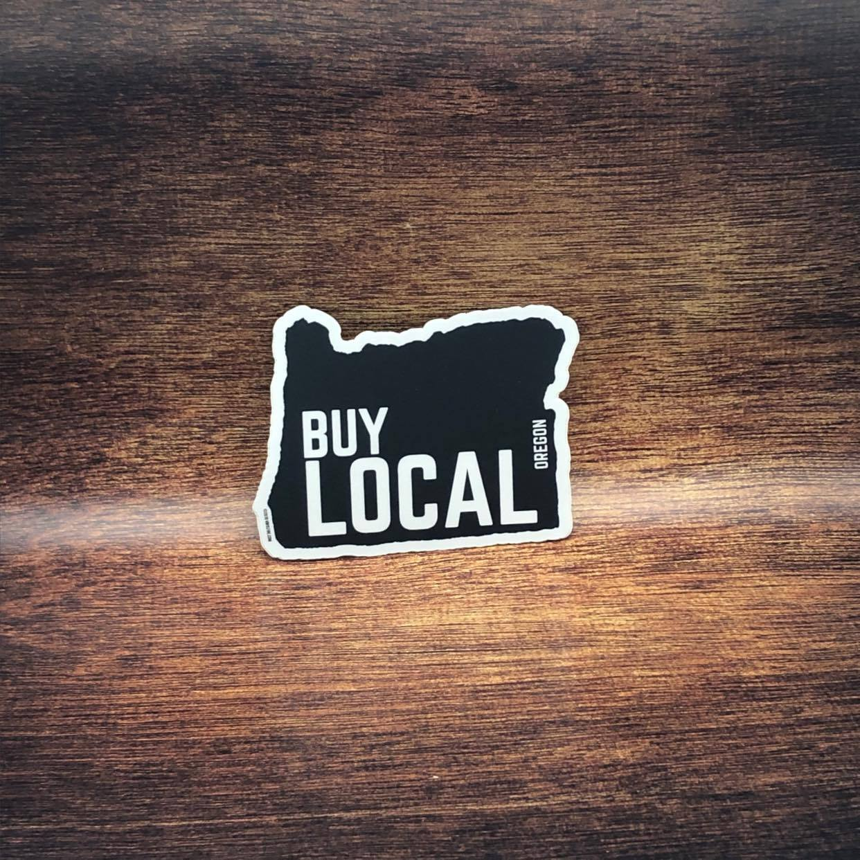 Buy Local Oregon Sticker