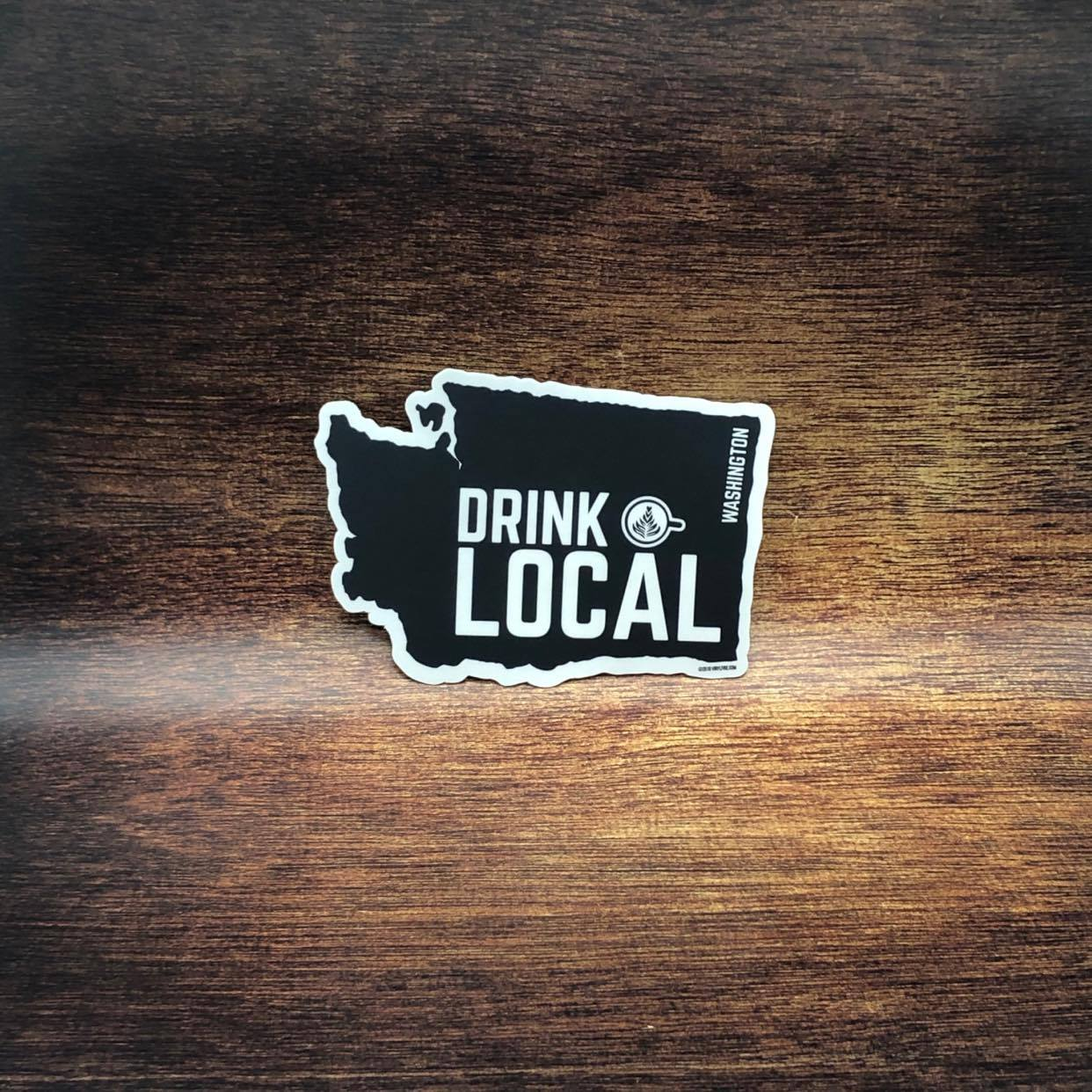Drink Local Washington Sticker