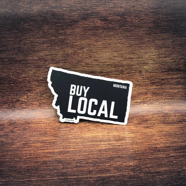 Buy Local Montana Sticker