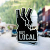 Buy Local North Idaho Sticker