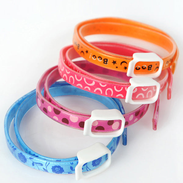 Adjustable Pets Collar, Anti Flea & Tick